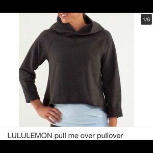 Lululemon pull me over pullover sweat shirt